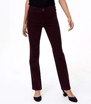 LOFT Straight Leg Corduroy Pants in Curvy