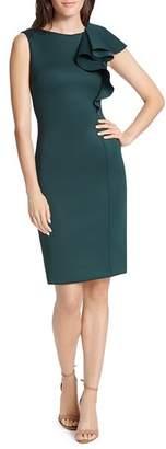 Eliza J Ruffle-Detail Dress