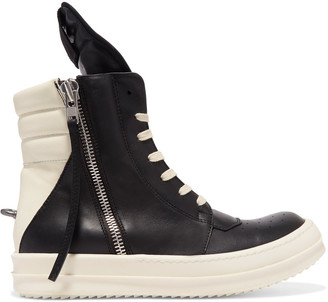 Rick Owens Cyclops leather sneakers $1,210 thestylecure.com