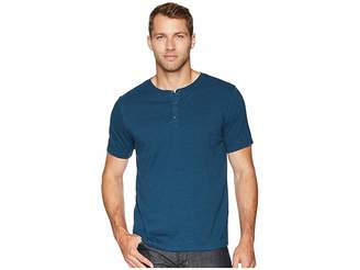 Threads 4 Thought Baseline Tri-Blend Short Sleeve Henley