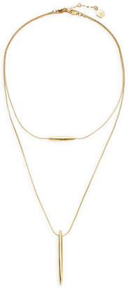 Trina Turk Double Pod Pendant Necklace