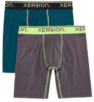 Xersion 2PK Shield Long Leg Boxer Briefs - Big & Tall
