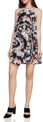 BCBGeneration Tie-Dye Cascade Chiffon Slip Dress $88 thestylecure.com