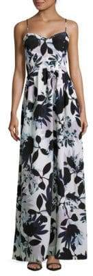 Parker Floral Sweetheart Maxi Dress