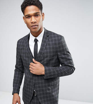 Jack and Jones Skinny Suit Jacket in Check
