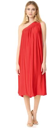 Ramy Brook Raina One Shoulder Dress $425 thestylecure.com