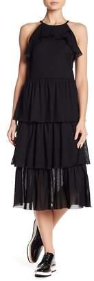 Rachel Roy Tiered Ruffle Dress