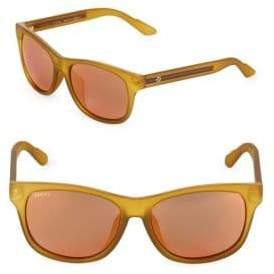 Gucci 57MM Rectangle Sunglasses