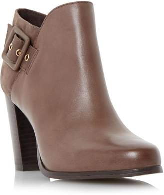 at Dune Dune LADIES OAKLEE - Side Buckle Block Heel Ankle Boot