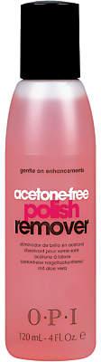 OPI Acetone Free Nail Polish Remover, 120ml