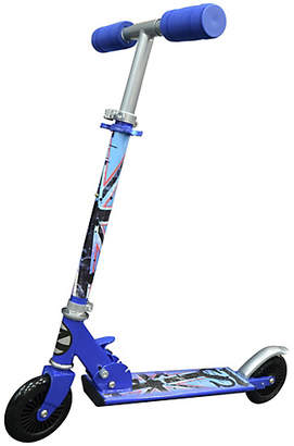 Zinc Blue Folding Inline Scooter