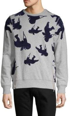 PRPS Contrast Pullover Sweater