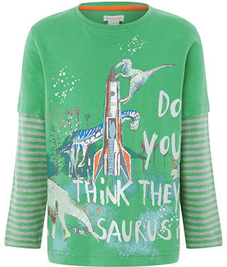 Monsoon Do You Think They Saurus T Shirt