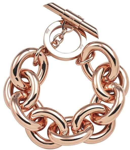 Amanda Wakeley Chunky Rose Gold Bracelet