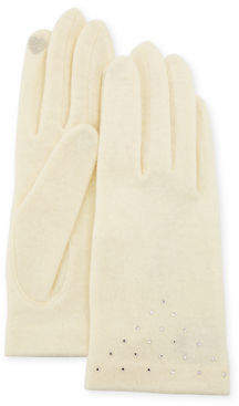 Portolano Scattered Crystal Smart Gloves