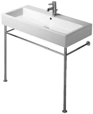 """Duravit Vero Ceramic 40"""" Wall Mount Bathroom Sink with Overflow Duravit"""
