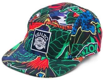 Kenzo Jungle print cap