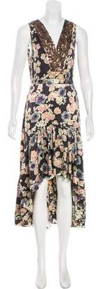 Gryphon Silk Midi Dress