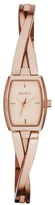 DKNY Women's NY2314 CROSSWALK Analog Display Analog Quartz Rose Watch