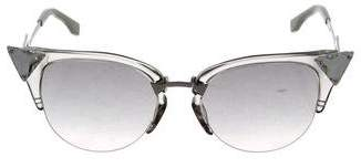 Fendi Jewel-Embellished Cat-Eye Sunglasses w/ Tags