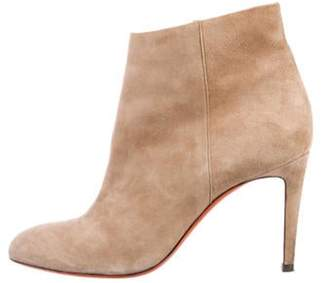 Santoni Suede Ankle Boots Tan Suede Ankle Boots