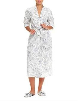 Papinelle Linen Garden Maxi Robe