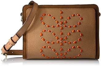 Orla Kiely Laced Stem Leather Abby Bag