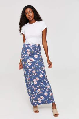 Ardene Floral Maxi Skirt