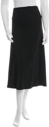 Yohji Yamamoto Midi A-Line Skirt $85 thestylecure.com