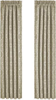 """J Queen New York Mirabella 50"""" x 84"""" Pair of Window Panels"""