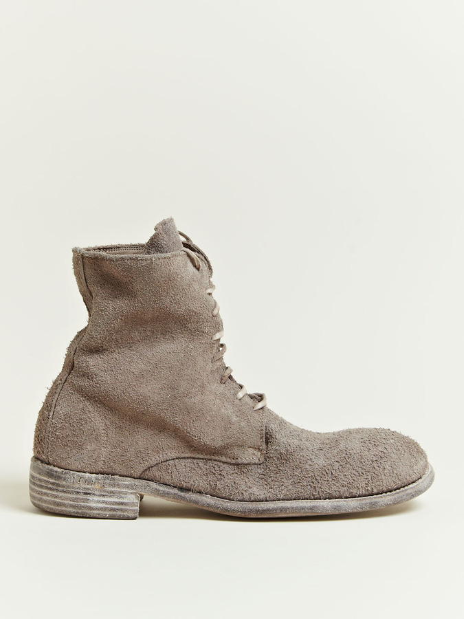 Men's Reverse Leather Bison Boots