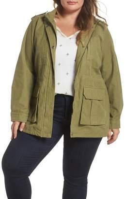 Levi's Cotton Fishtail Field Jacket (Plus Size)