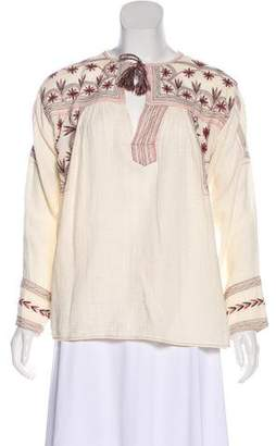 Etoile Isabel Marant Embroidered Knit Top