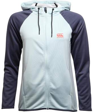 Canterbury of New Zealand Womens Poly Fleece Zip Hoody Starlight Marl