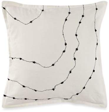 Canyon Tide European Pillow Sham in Truffle