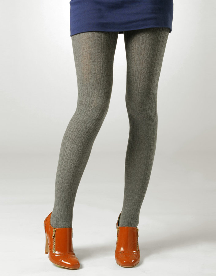 ASOS Cable Knit Wool Tights