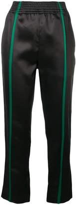 Haider Ackermann front stripe trousers