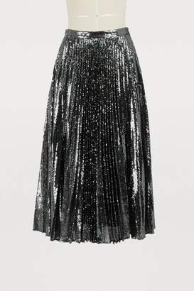 Marco De Vincenzo Sequin midi skirt