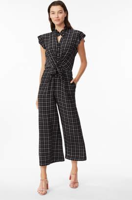 Rebecca Taylor Plaid Silk Jumpsuit