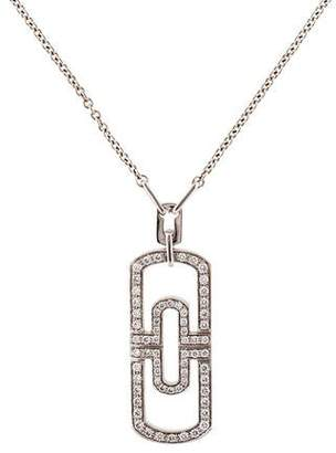 Bvlgari 18K Diamond Parentesi Necklace