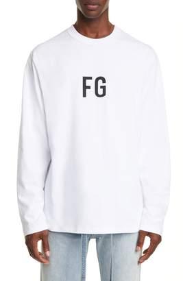 Fear Of God FG Long Sleeve T-Shirt