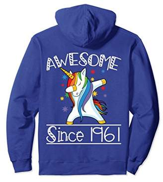 57th Birthday Gifts Vintage 61 Awesome Since 1961 Hoodie