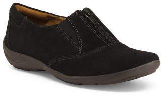 Comfort Front Zip Sneakers