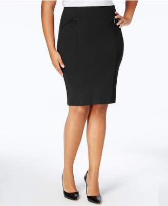 Alfani Plus Size Pencil Skirt