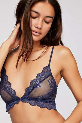 Only Hearts So Fine Sheer Lace Bralette