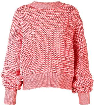 Jil Sander oversized crew-neck jumper