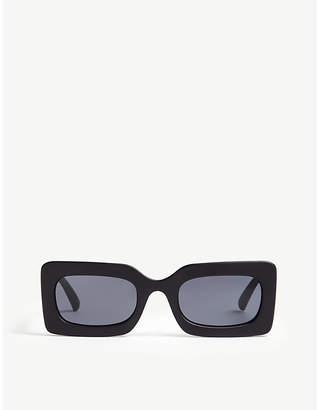 Le Specs Damn! square-frame sunglasses