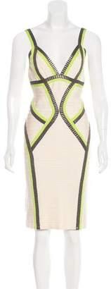 Herve Leger Niyaz Bandage Dress
