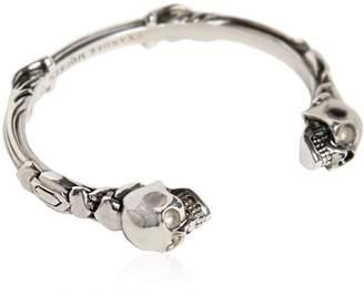 Alexander McQueen Skulls Cuff Bracelet