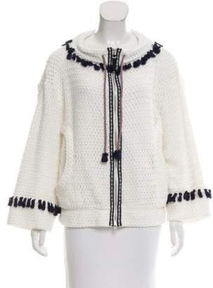 Tsumori Chisato Tassel-Trimmed Knit Jacket w/ Tags